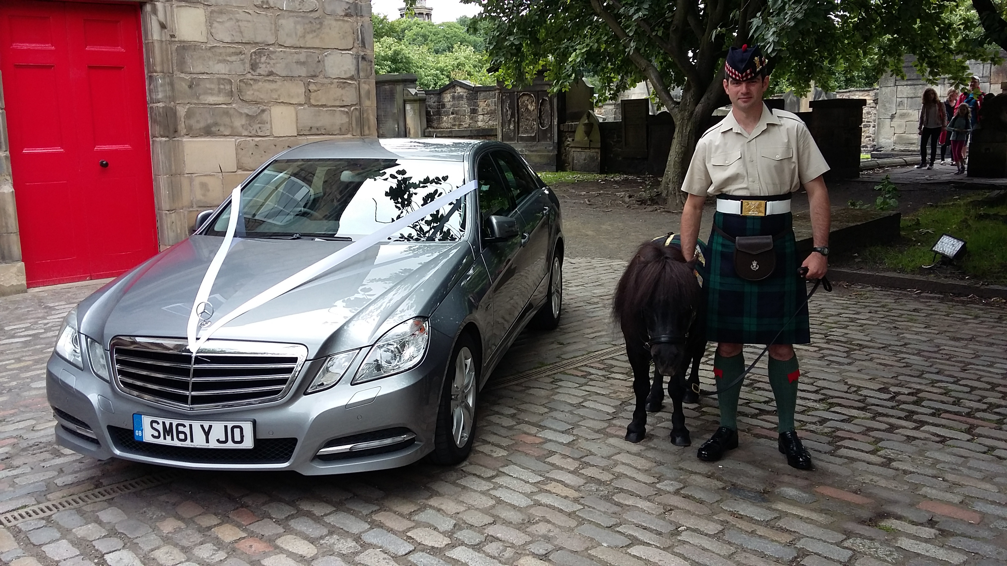 Mercedes E Class Edinburgh Wedding Car