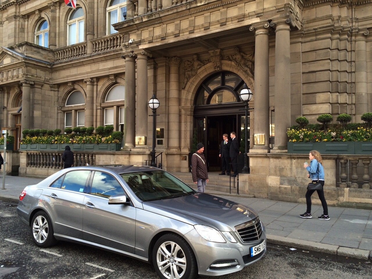 The Balmoral Hotel Princes Street Luxury Airport Transfers