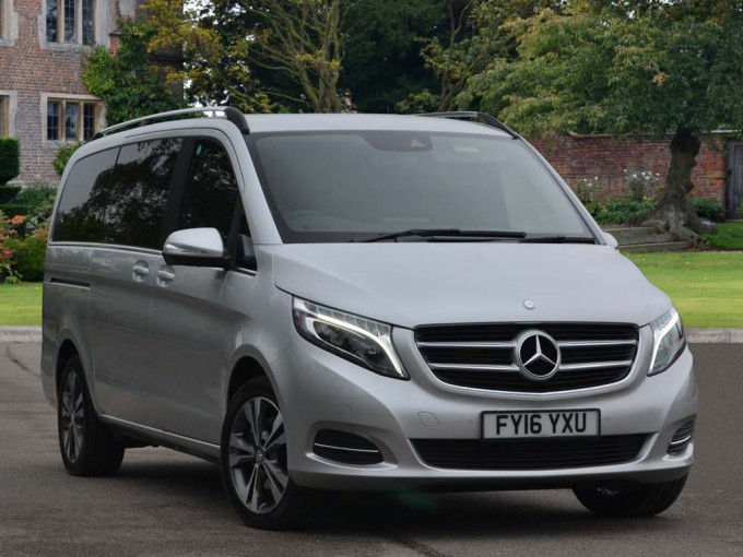 Mercedes V Class Spacious People Carrier
