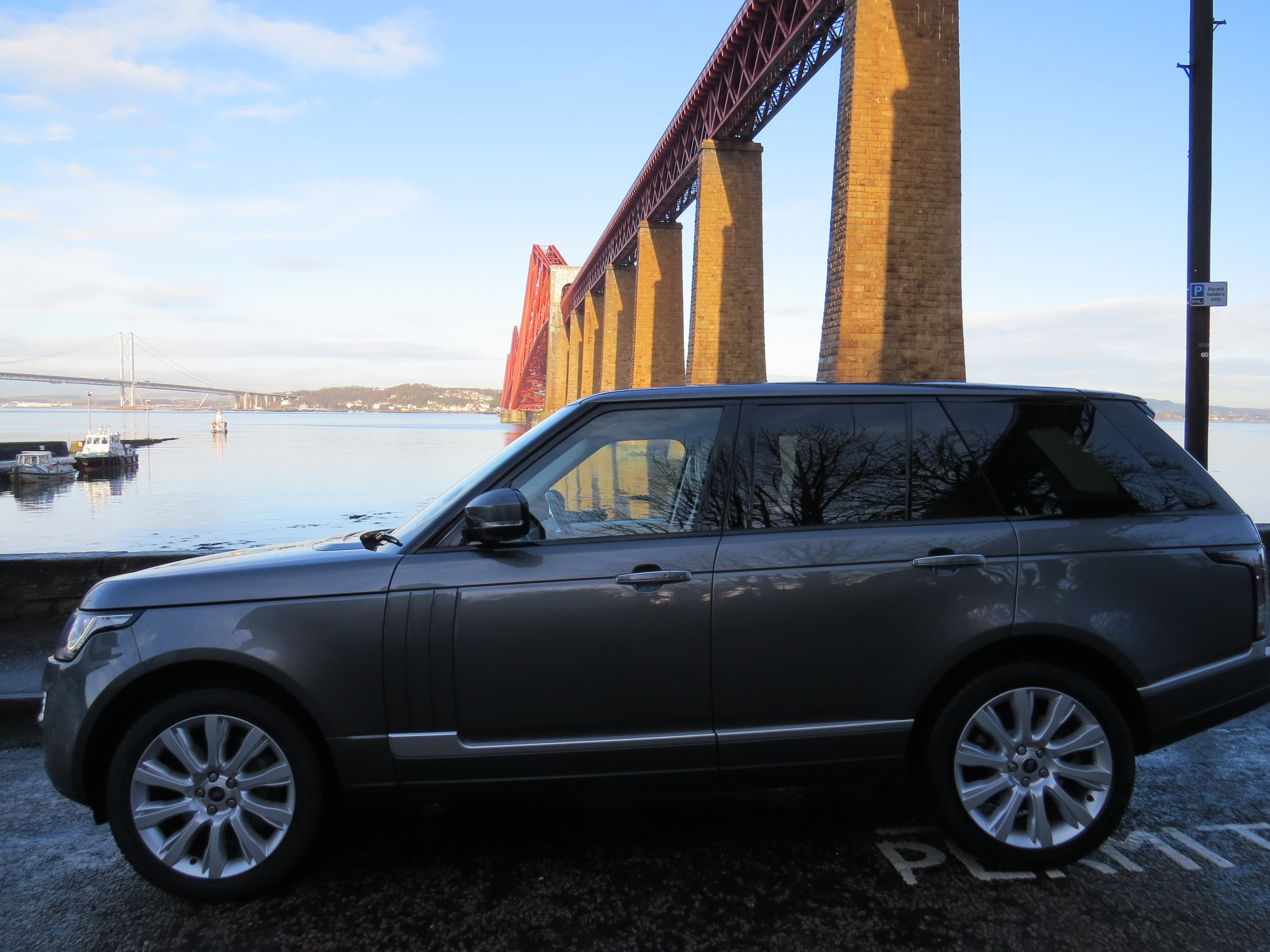 Range Rover Private Tours of Scotland - Forth Bridges