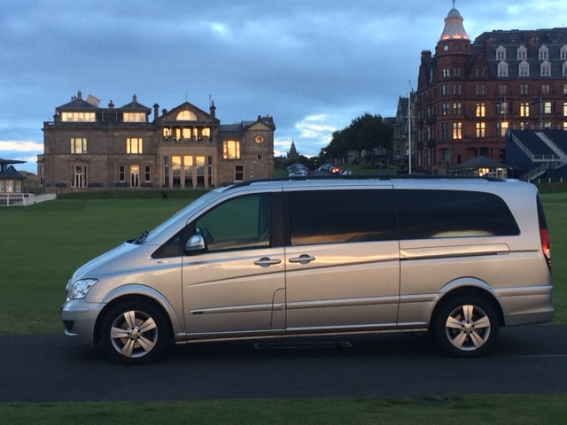 St Andrews Golf Private Transfer Service from Edinburgh
