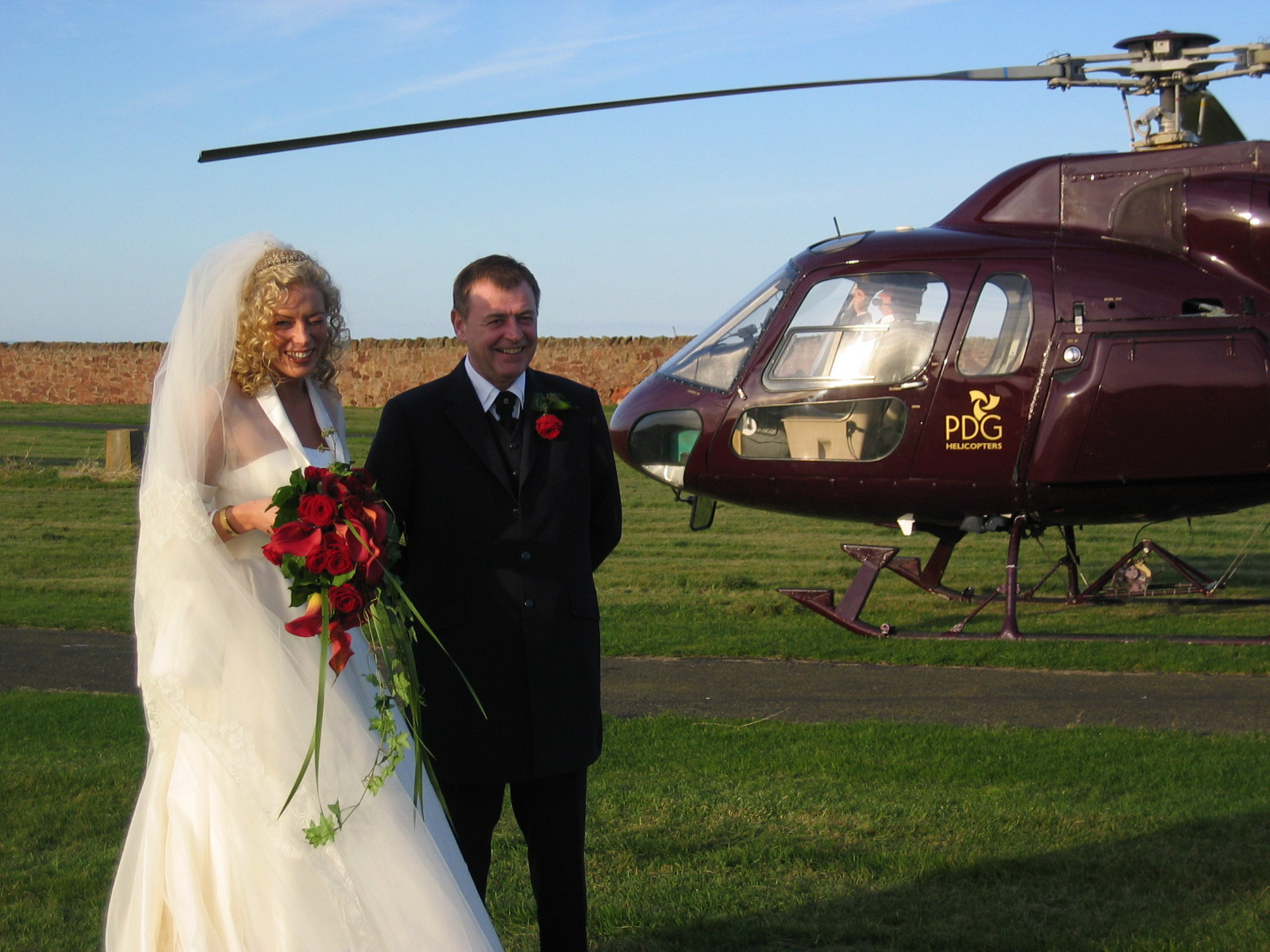 Helicopter Luxury Transfer to your Wedding