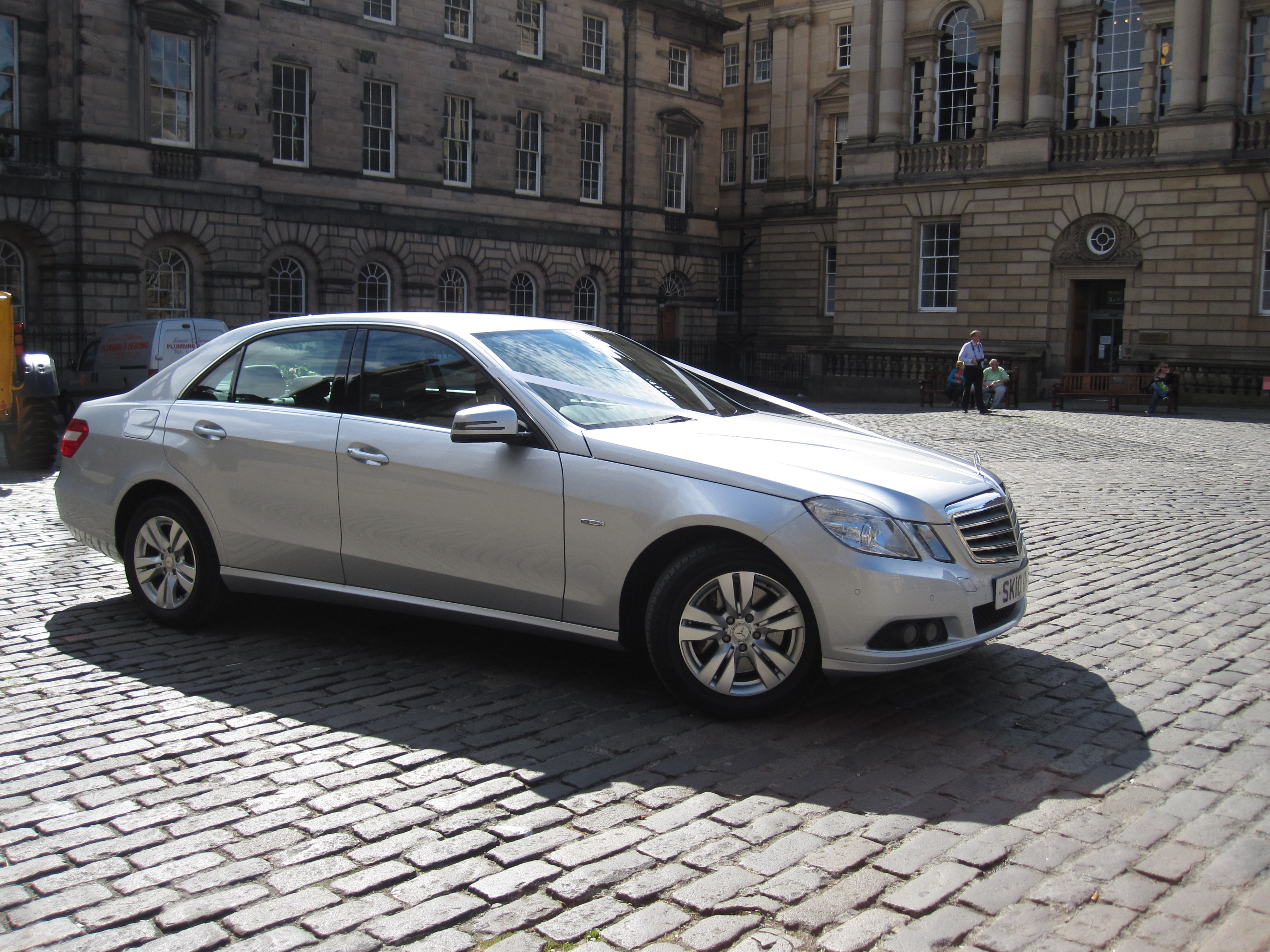 Edinburgh Wedding Car Service - Mercedes E Class