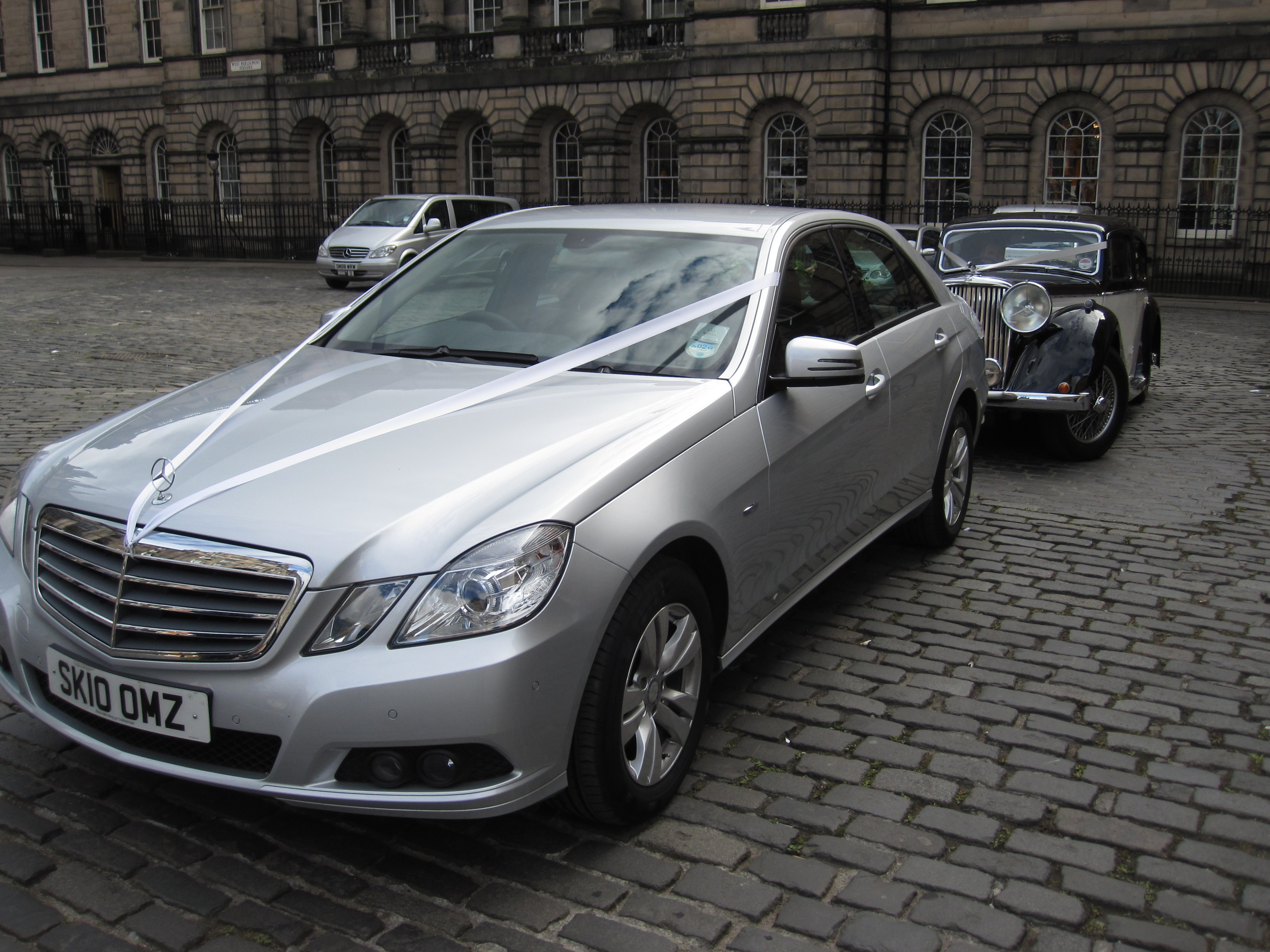Edinburgh Registry Wedding Car Service