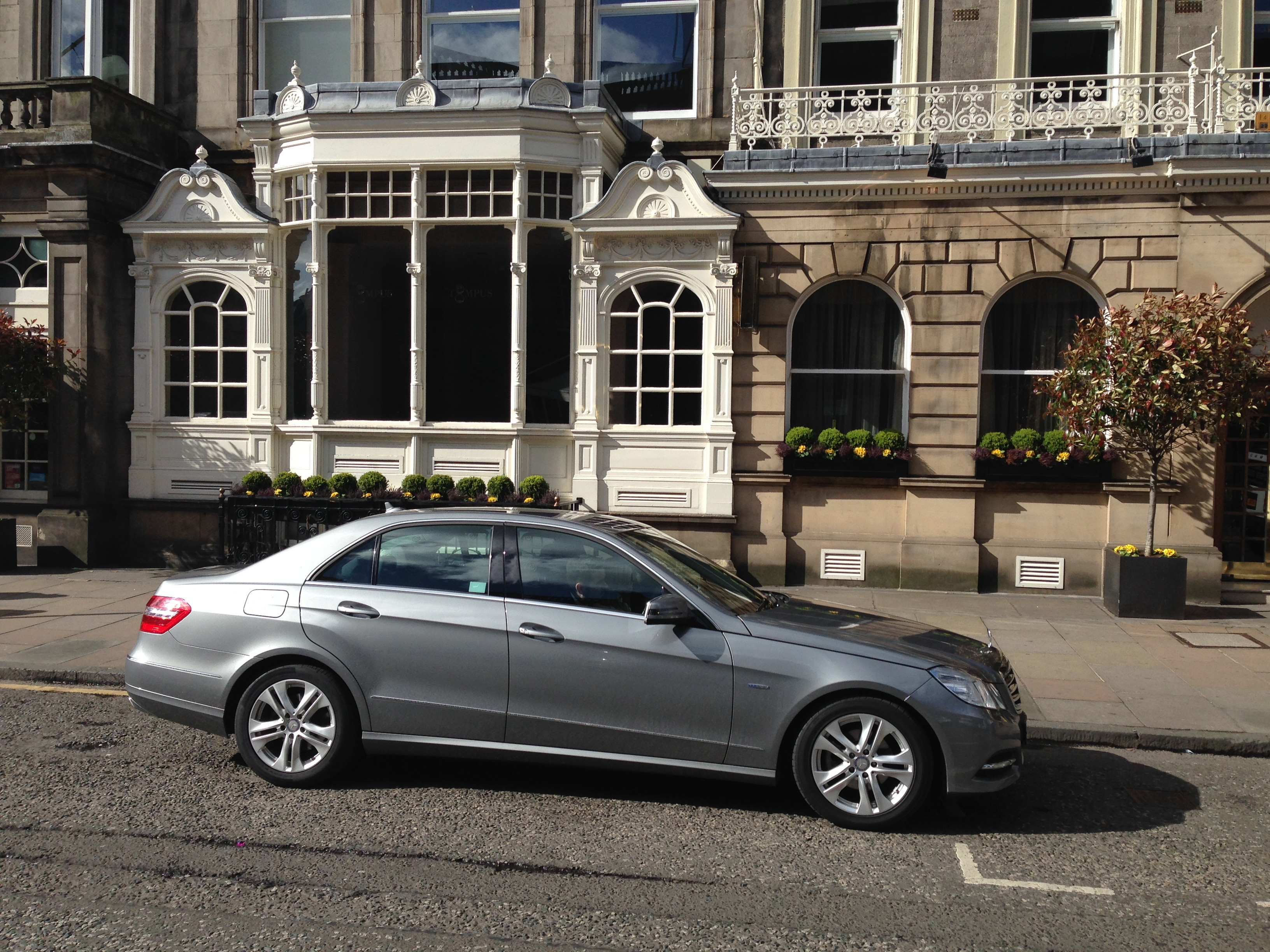 Mercedes Wedding Car Corporate Transfers The George Edinburgh