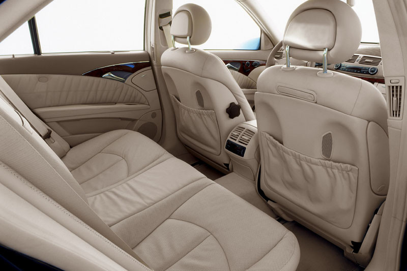 Mercedes E Class interior - colours vary