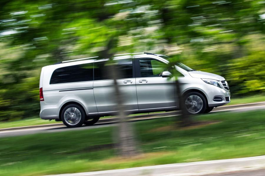 Mercedes V Class on Outlander Tour