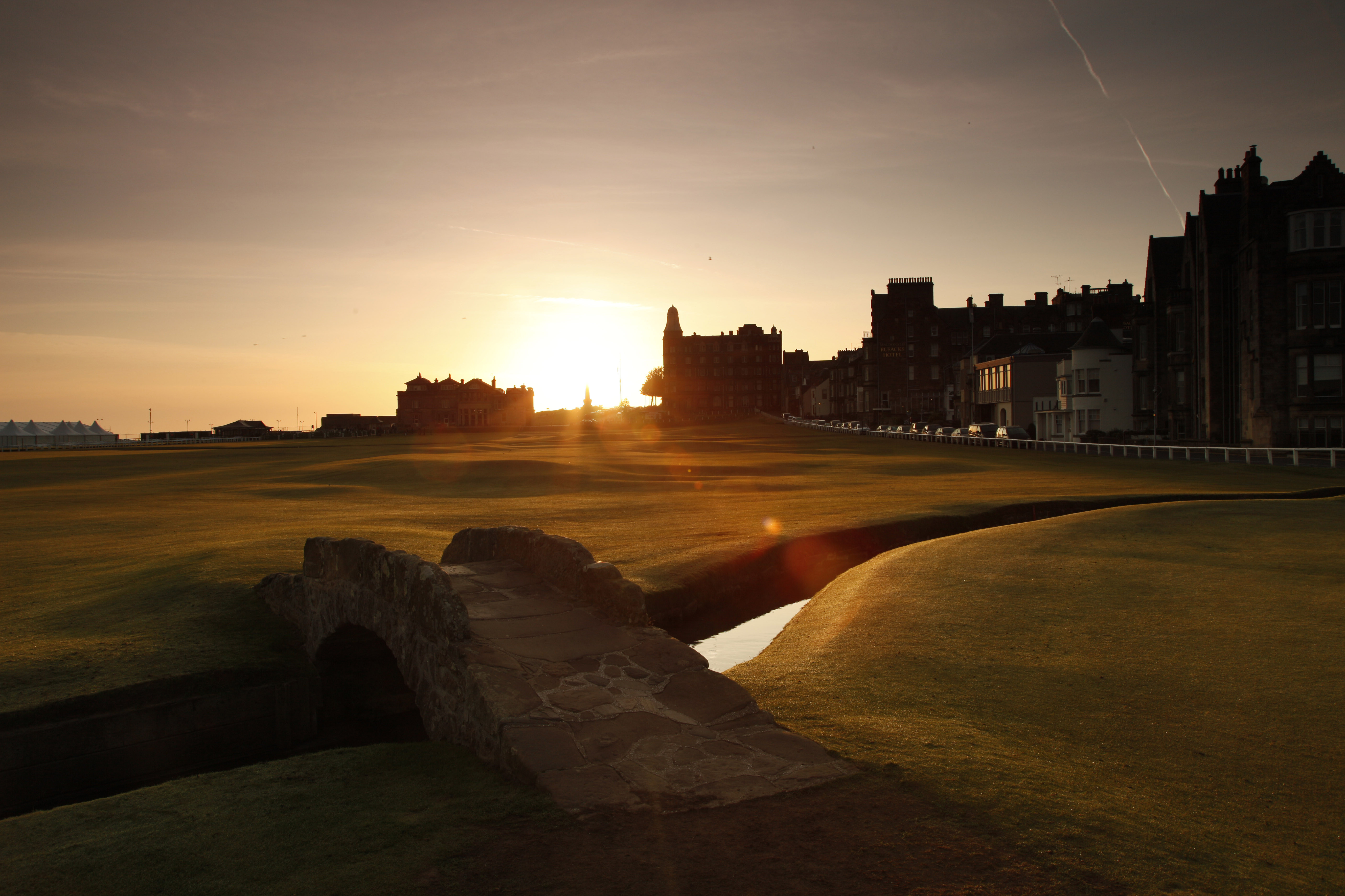 A special day in St Andrews - for Golfers often the best day of their trip